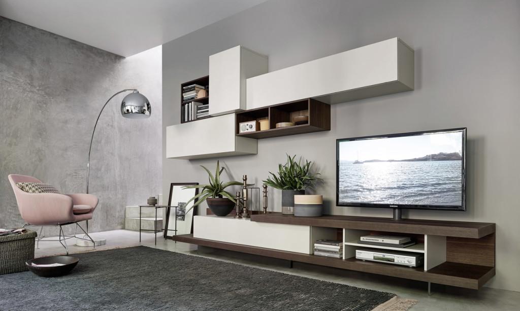 Arredamento Living: soggiorni, librerie, pareti attrezzate